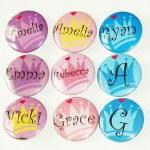 Pinback button badges - Princess / ..