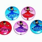 Pinback button badges - Ballet Danc..