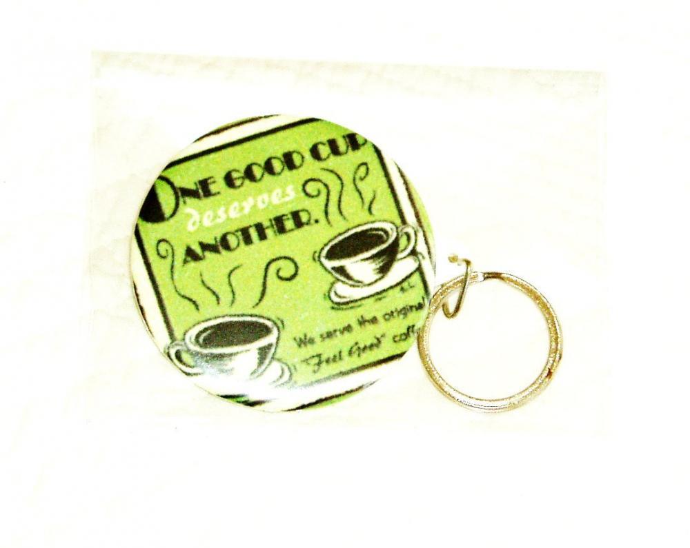 Keychain - Drink coffee
