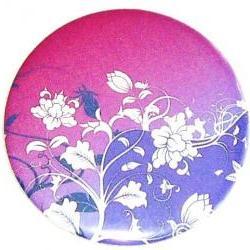 Pocket mirror Purple Floral Pocket mirror