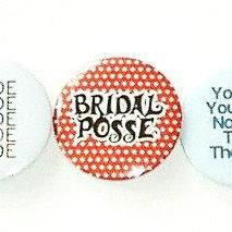 Pinback button badges - Hens night party pack of 12 badges